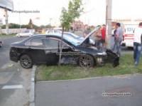 Если женщина садится за руль – быть беде… Что и подтвердил случай в Киеве