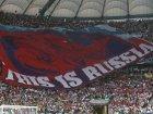 Российские болельщики имели разрешение УЕФА на разворачивание плаката, который поляки сочли «экстремистским»