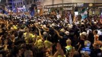 В Мадриде многотысячный митинг шахтеров перерос в побоище с полицией
