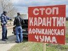 Российские туристы завезли в Запорожскую область африканскую чуму
