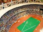 Чтобы создать лондонский олимпийский стадион из кубиков Lego, нужно два месяца и четыре человека