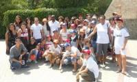 Позавидуешь. Жители лагеря Союза армян Украины встретились с артистами из Boney M