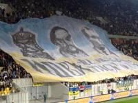 Болельщики пришли на матч Украина-Чехия с «языковыми плакатами». Мероприятие перепутали?