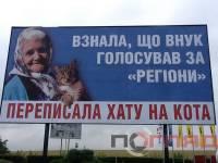 Знаменитая бабушка с котом «переехала» в Тернополь