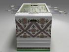 Украинский дизайнер создал напольный футбол с помощью вышиванки, потратив 32 000 метров каната