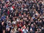 У Харьковского облсовета собрались сразу три пикета. Хорошие люди, только языковый вопрос их испортил