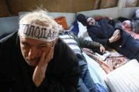 Наша песня хороша, начинай сначала. Харьковские чернобыльцы начали очередную бессрочную акцию протеста