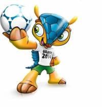 ФИФА сделает броненосца талисманом Чемпионата мира-2014