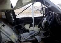 Владелец новенькой Toyota случайно запер в машине ... медведя. Последствия не заставили себя долго ждать