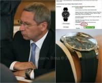 Любитель быстрой езды Лукьянов не гнушается носить дешевые часы всего за 5 тысяч баксов