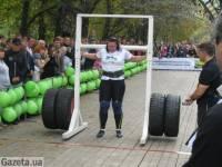 Киевлянка в Донецке установила два силовых рекорда Украины