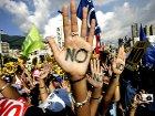 В ходе акций протеста в Мадриде ранены 64 и арестованы 35 человек