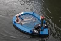 Голландец создал первую в мире плавающую горячую ванну