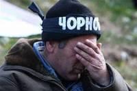 На улице похолодало, а под Кабмином опять митингуют чернобыльцы
