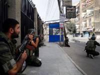 Сирийские повстанцы вступили в бой с палестинцами