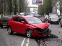 В крупном ДТП в Макеевке пострадали пять человек