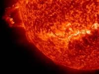 На Солнце произошла гигантская вспышка