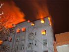 Сегодня ночью в историческом центре Киева горел жилой дом
