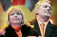 «Оранжевую» годовщину чета Ющенко решила провести в молитве