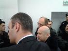 Проведать Луценко в суд пришли Кличко, Яценюк и Турчинов