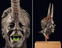 Бельгиец создает скульптуры, которые напоминают декорации из фильмов ужасов