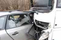 На Львовщине столкнулись легковушка и автобус. Пять человек погибли на месте