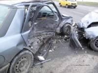 Киев. При страстном «поцелуе» «Фордов» пострадали два человека