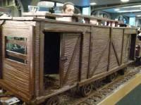 Сладкоежкам на зависть. Бельгийский кондитер сделал 33-метровый шоколадный поезд