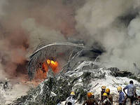 В Конго самолет упал на жилой квартал. За штурвалом был украинец