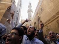 Толпа разъяренных египтян двинула на президентский дворец