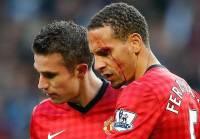 Во время манчестерского дерби между «Сити» и «Юнайтед» болельщик едва не выбил глаз Рио Фердинанду