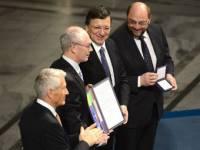 Руководителям Евросоюза вручили Нобелевскую премию мира