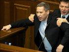 Для депутата Лукьянова, оказывается, есть еще что-то святое: присяга депутата и портрет Януковича