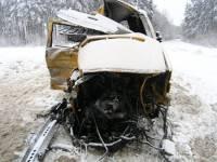 Смертельное ДТП на Житомирщине. На дороге не разминулись Volkswagen и Volvo