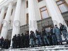Милиция усилила охрану по периметру Рады. Зачем, ведь все, от кого ее надо защищать, находятся внутри