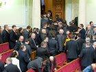 Оппозиция гордо показала Януковичу спины. Вот только он этого так и не увидел