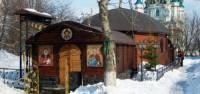 В Киеве подожгли храм монастыря, расположенного на месте знаменитой Десятинной церкви. Монахи подозревают язычников