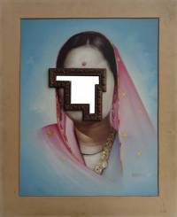 Художник из Индии решил создать новое направление в живописи. Похоже, что ничего не получилось