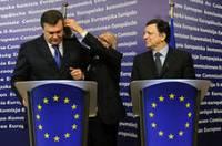Янукович и Баррозу определились с датой проведения саммита Украина-ЕС