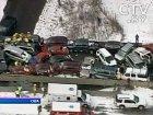 На трассе в Калифорнии столкнулись сразу 60 автомобилей. Интересно, у виновника есть «автогражданка»?