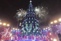Как в Киеве главную новогоднюю елку открывали