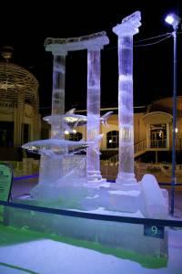 В Салехарде прошел Х международный фестиваль ледовой скульптуры