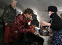 Донецким бомжам дали шанс выжить в лютый мороз