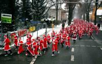 В Германии состоялся традиционный забег Санта-Клаусов