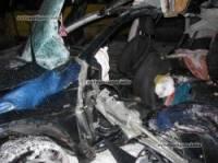 Киев. В столкновении Nissan Qashqai с автобусом погибли три человека, еще четверо - травмированы