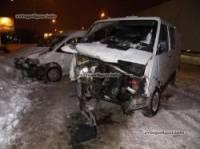 В Киеве Renault практически самоликвидировался об Fiat