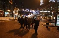 Под Новый год в центр Киева на машине лучше не соваться. Запоминаем или записываем список «запретных» улиц