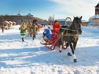 Новогодние приключения в Древнем Киеве (под Киевом) продолжаются
