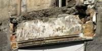 В Киеве обвалился бетонный балкон. Лишь чудом никто не пострадал