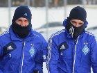 «Динамо» впервые в этом году вышло на тренировку. Прямо на мороз